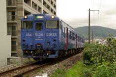 Local train Sea side liner , NAGASAKI