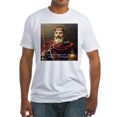#Charlemagne #Laughter #Tshirt by @RickLondon @AmericanApparel #cafepress #pinterest #gift #sale #history