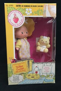 Butter Cookie with Jelly Bear Strawberry Shortcake Dolls