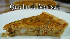 Quiche de Marisco / RECETA CASERA / Deliciosa y fácil de Hacer | Banana Bread, Quiches, Breakfast, Desserts, Youtube, Savory Snacks, Cakes, Puff Pastry Recipes, Homemade Recipe