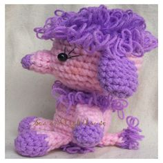 Purple Poodle | Pink and purple poodle | Flickr - Photo Sharing!