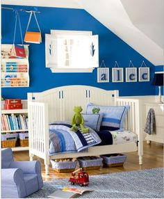 50+ awesome blue bedroom ideas for kids | color blue, rockers and