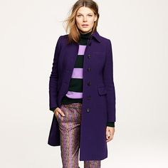 J. Crew also black, blue, etc. $224 today (25% off of $298)