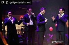 Thanks @chung_greeen_star for this photos from @gettyentertainment @gettyentertainment with @repostapp  Crossover vocal group Il Divo sang at The Mall of Qatar's opening today. Did you know #MOQ is larger than 90 NFL Football Fields?! _ Carlos Marin David Miller Sebastien Izambard and Urs Buhler performed during the Grand opening ceremony of The Mall of Qatar in Doha Qatar. |  April 8 2017 | : @john_phillips_london | #GettyEntertainment for @mallofqatar