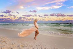 Beach Maternity Photographer, Santa Rosa Beach and Destin Florida, Outdoor Maternity Photos, Sunset Beach Maternity, Amanda Eubank Photography, Dress by Sew Trendy Accessories