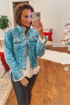 Amazon find: pearl detail denim jacket. Wearing: Small, size up, fits small. Angela Lanter, Hello Gorgeous Blog #AngelaLanter LIKEtoKNOWit Outfit Latest Fashion Trends STOP CHILD LABOUR PHOTO GALLERY  | PBS.TWIMG.COM  #EDUCRATSWEB 2020-05-11 pbs.twimg.com https://pbs.twimg.com/media/Ck1KOFbXAAAKPBE.jpg