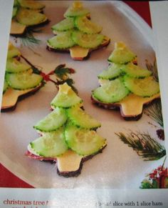 Christmas Tree Tea Sandwiches recipe