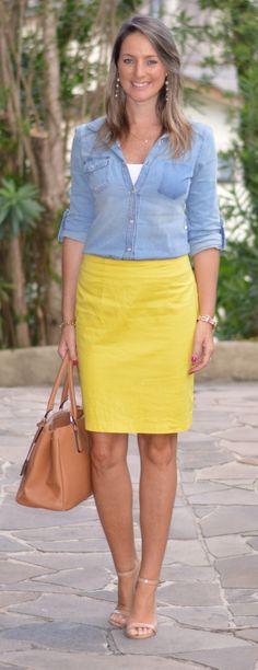 Look do dia - look de trabalho - moda corporativa - look executiva - Work outfit…