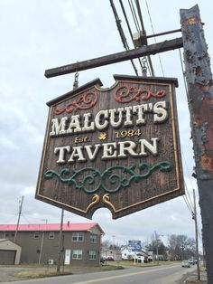 Malcuits HDU carved sign