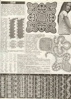 Bruges lace ribbon variations and some more wonderful designs on their web site too Irish Crochet Charts, Irish Crochet Patterns, Crochet Borders, Lace Patterns, Freeform Crochet, Crochet Doilies, Crochet Lace, Bruges Lace, Lace Tape