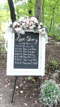 What is your love story? #forestceremony