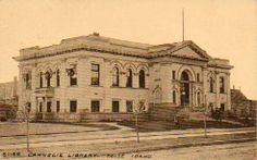 I spent a lot of time in this library as a little girl.  I still like to drive by and remember the fun times there.  Boise ID Carnegie Library 1905