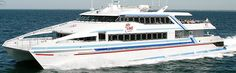 Hi-speed ferry to Nantucket & Martha's Vineyard ~  WOW !  Not like the old ferry in the 60's.
