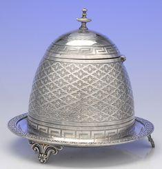 Victorian honey pot