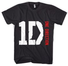 one direction merchandise | One Direction Boy Band Songs Logo Clothes Merchandise T-shirt ...