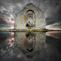 Musetouch Visual Arts Magazine  Abandoned...Castle Ruins, Loc Ard, Scotland...photo by S. Howse.