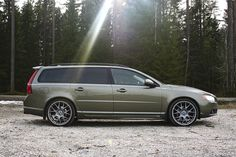 I like the subtle but authoritative look to Finn Martin's V70 with his choice of BBS wheels.