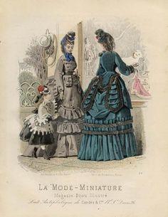 La Mode-Miniature 1872