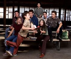 Freaks and Geeks: this show, like all good shows, was apparently TOO good to be on TV for longer than a season. Best Tv Shows, Best Shows Ever, Favorite Tv Shows, Favorite Things, Movies Showing, Movies And Tv Shows, Freeks And Geeks, One Hit Wonder, How To Play Drums