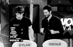 these two are such great friends!!!!!!!! This is fantastic!! Wolf Watch following S3b finale - Tyler Hoechlin and Dylan O'Brien