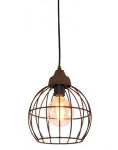 Robuuste hanglamp Light & Living Benthe oud roest Ø20 cm