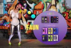 -FAUN- Retro 80's F-Phone Case Gatcha