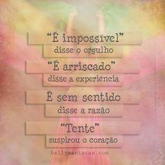 #vai com fé, que a fé não costuma falhar.