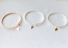 Skinny bangles silver bangles Mother's Day gift