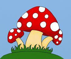 Cum se deseneaza trei ciupercute - By Oana Luigi, Tudor, Fictional Characters, Easy Drawings, Fungi, Bebe, Fantasy Characters