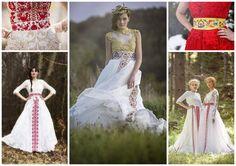 66bfb2b9e folklórna svadba - Hľadať Googlom   FA   Wedding dresses, Flower ...