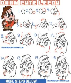 How to Draw Cute Kawaii / Chibi LeFou from Beauty and the Beast Easy Step by Step Drawing Tutorial for Kids