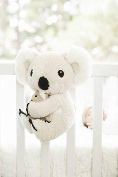 Cloud B Mama Koala Sound Machine Get Baby, Baby Sleep, Baby Kids, Baby Shower Themes, Baby Shower Gifts, Baby Koala, Koala Bears, Koala Nursery, Nursery Themes
