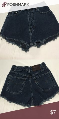 """High waisted shorts size 0 Waist24"""" , rise 12"""" **brand is Americanos Brandy Melville Other"""