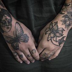 Maggie's hands