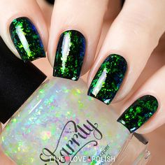 Starrily Northern Lights Nail Polish | Live Love Polish