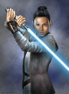 Rey Star Wars, Star Wars Art, Star Wars Images, Star Wars Wallpaper, Reylo, Lightsaber, Wonder Woman, Fan Art, Starwars