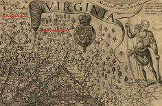 John Smith identified tribes beyond the Fall Line Woodland Indians, Piedmont Region, John Smith, Archaeology, Virginia, Vintage World Maps, Homeschool, Fall, Autumn