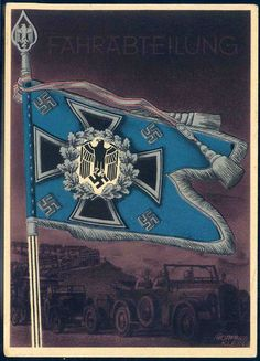 """Division: The victorious flags and standards of the German army"""