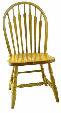 Amish Furniture Ohio Arrow Windsor Dining Chair Ohio Chair Collection The Windsor dining chair is unlike any other dining room chair design. Originally developed for use outside, the open back d