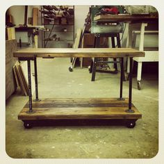 CustomSized Industrial Iron Pipe Flange Shelves door JSReclaimedWood, $382.00