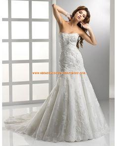 2012 Neue Brautmode wunderschöne sexy Brautkleider aus Spitze Meerjungfrau