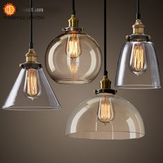 Cheap pendant lights, Buy Quality indoor pendant lights directly from China pendant lamp Suppliers: Vintage American Glass Pendant Lamp E27 Lamp Holder 110-240V Foyer/Coffee House/Bar/Shop Indoor Pendant Lights Free Shipping