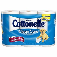 I'm learning all about Cottonelle Clean Care with Soft Ripples Bath Tissue Double Rolls at @Influenster!