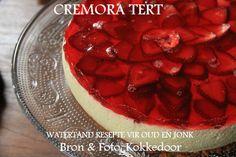 In en om die huis: Cremora Tert Tart Recipes, Sweet Recipes, Dessert Recipes, Cooking Recipes, Xmas Recipes, Dessert Ideas, South African Desserts, South African Recipes, Fridge Cake