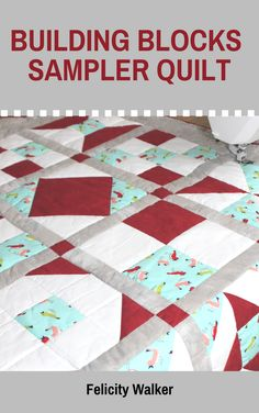 Complete pattern for a twelve-block sampler quilt, plus patterns and instructions for the twelve basic quilt blocks that go into the sampler. You will also learn how to add sashing and borders to your quilt. #quiltblockseasy, #quiltblockspatterns, #samplerquiltpattern, #quiltingbook, #howtoquilt, #quiltingforbeginners