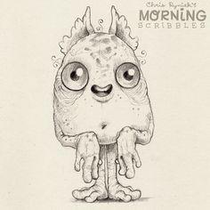 Coffee makes everything okay!!!  #morningscribbles   출처: CHRIS RYNIAK