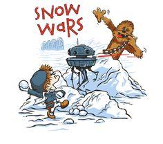 OMG CALVIN AND HOBBES STAR WARS!