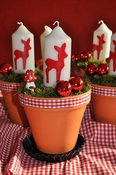 Bambi zur Weihnachtszeit by wunderschee, via Flickr