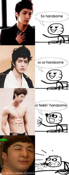 soooooooo funny!!!!! :D hahahahha i love you Cheondung!