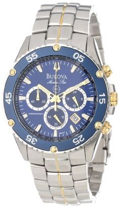 Bulova Men's 98H37 Marine Star Chronograph Watch >> $242.99 << | Your #1 Source for Watches and Accessories
